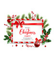 festive design for banner vector image vector image