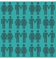 gay LGBT seamless pattern vector image