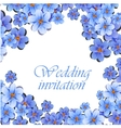 Greeting card watercolor can be used as vector image vector image