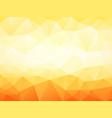 light orange geometric background vector image vector image