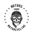 motorbiker vector image vector image