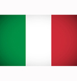 National flag of Italy vector image