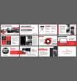 red presentation templates for slide show