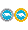 two buttons vector image