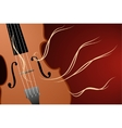 vector illustration of violin vector image vector image