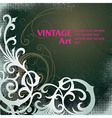 6floral line 70 2 vector image vector image