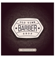 Background design for Barbershop vector image vector image