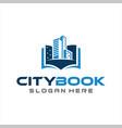 building book logo icon design vector image vector image