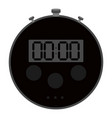 isolated chronometer icon vector image