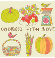 kitchen card vector image