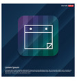 notepad icon flat design vector image