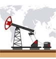 oil prices design vector image vector image
