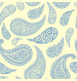 paisley pattern background pastel floral ornament vector image vector image