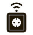 smart socket icon simple style vector image vector image