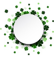 St Patricks day card vector image vector image