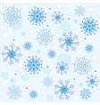texture of the snowflakes vector image vector image