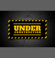 Under construction industrial background in
