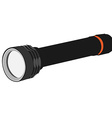 Pocket flashlight vector image vector image