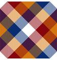 Red orange blue white diagonal seamless check vector image vector image
