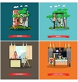 set of family concept design elements in vector image vector image