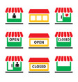 shop or store supermarket shopping centre vector image