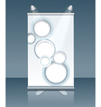 vertical billboard vector image