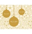 abstract swirls old paper texture Christmas vector image vector image
