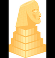 sphinx vector image vector image