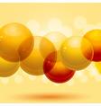 3d spheres vector image vector image