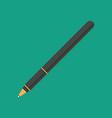 Black pen vector image vector image