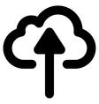 Cloud Upload Stroke Icon vector image