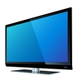Flat screen tv lcd vector image