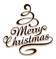 Merry christmas typography vector | Price: 1 Credit (USD $1)
