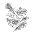 Palm leaves Doodle style