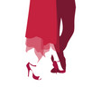 tango dancers shoes and legs vector image