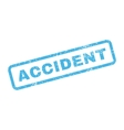 Accident Text Rubber Stamp vector image