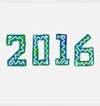 2016 grunge stamp new year sign