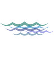 clip art transparent waves vector image