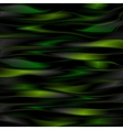 Dark green shiny stripes background vector image vector image