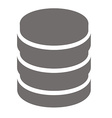 Database vector image vector image