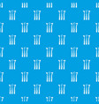 dentistry tool pattern seamless blue vector image vector image