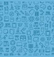 different network app icons seamless pattern back vector image vector image