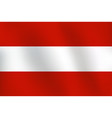 flag of austria - vector image