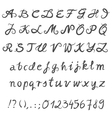 Hand drawn font set vector | Price: 1 Credit (USD $1)