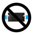 no game digital tablet vector image vector image