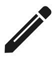 pencil icon simple style vector image