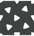 Play symbol pattern vector image vector image