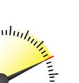 speedmetter vector image vector image