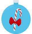 christmas candy caramel cane vector image