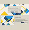 modern design web page light vector image